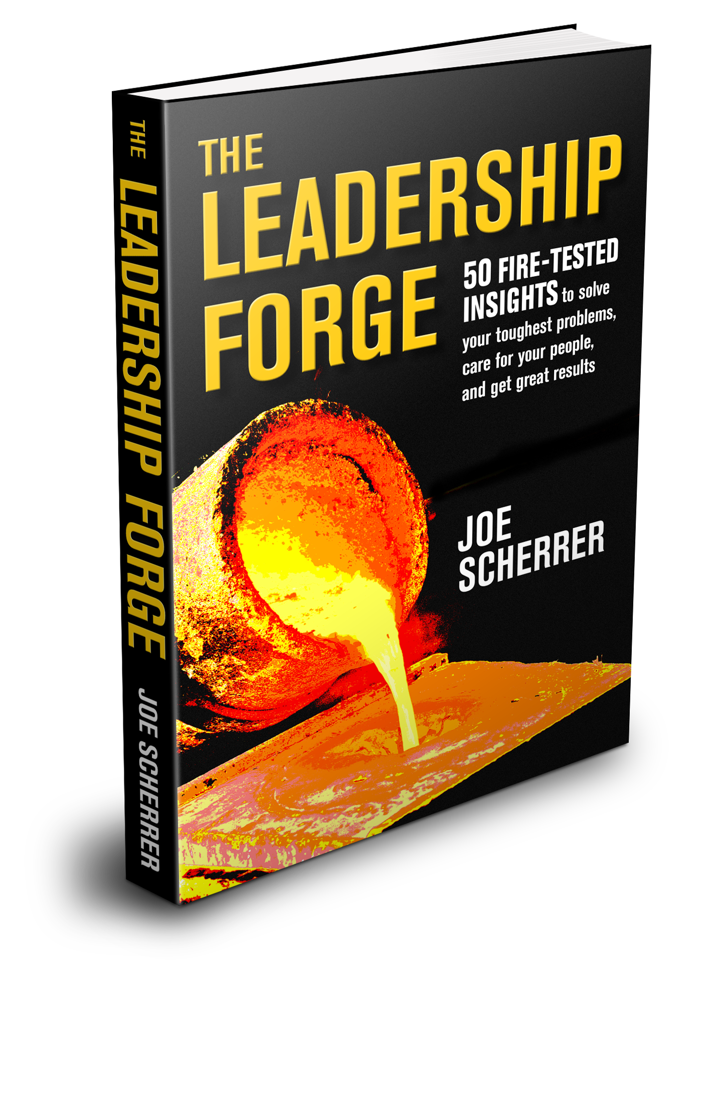 The Leadership Forge 3D Cover